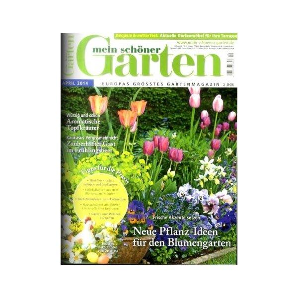 Mein Schöner Garten April 2014 Garten Zeitschrift Von Mein