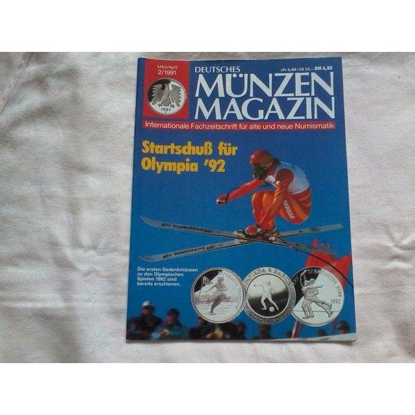 Deutsches Münzen Magazin Märzapril 1991 Id 17088094