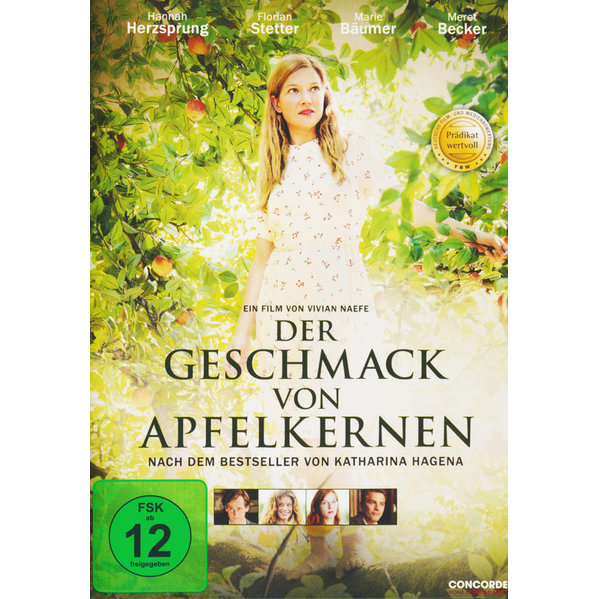 der geschmack von apfelkernen pr dikat wertvoll dvd 2014 mit hannah herzsprung florian. Black Bedroom Furniture Sets. Home Design Ideas