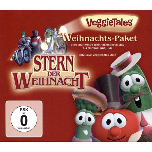 veggietales weihnachts paket 3 dvds archibald spargel. Black Bedroom Furniture Sets. Home Design Ideas