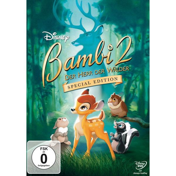 bambi 2 der herr der w lder special edition dvd 2011. Black Bedroom Furniture Sets. Home Design Ideas