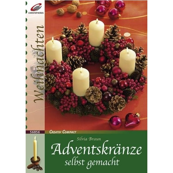 adventskr nze selbst gemacht silvia braun isbn 9783419568569 id 18692574. Black Bedroom Furniture Sets. Home Design Ideas