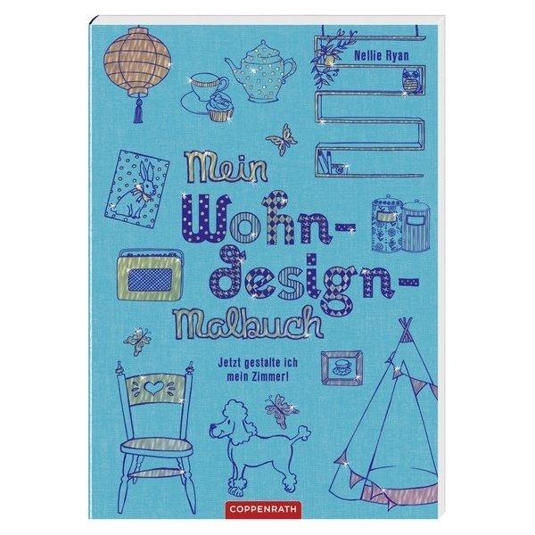 Mein wohndesign malbuch jetzt gestalte ich mein zimmer for Wohndesign verlag