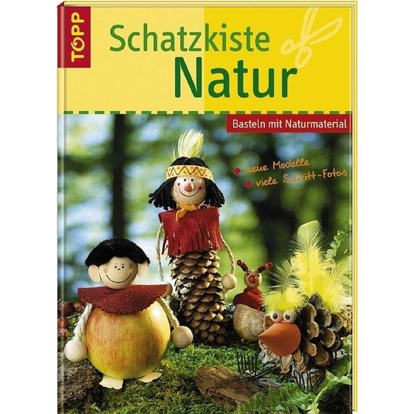 Schatzkiste natur basteln mit naturmaterial sandra blum - Schatzkiste basteln vorlage ...