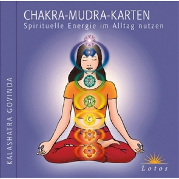 chakra mudra karten spirituelle energie im alltag nutzen kalashatra govinda isbn. Black Bedroom Furniture Sets. Home Design Ideas