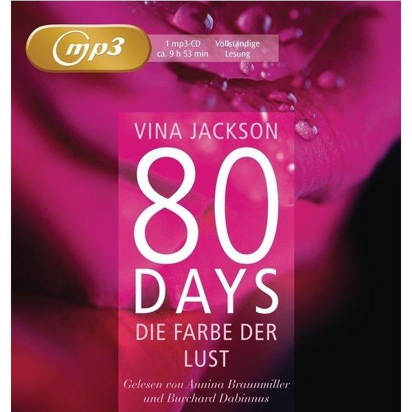 80 days die farbe der lust vina jackson isbn. Black Bedroom Furniture Sets. Home Design Ideas