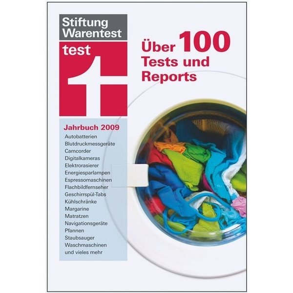 test jahrbuch f r 2009 ber 100 tests und reports stiftung warentest isbn 9783937880754 id. Black Bedroom Furniture Sets. Home Design Ideas
